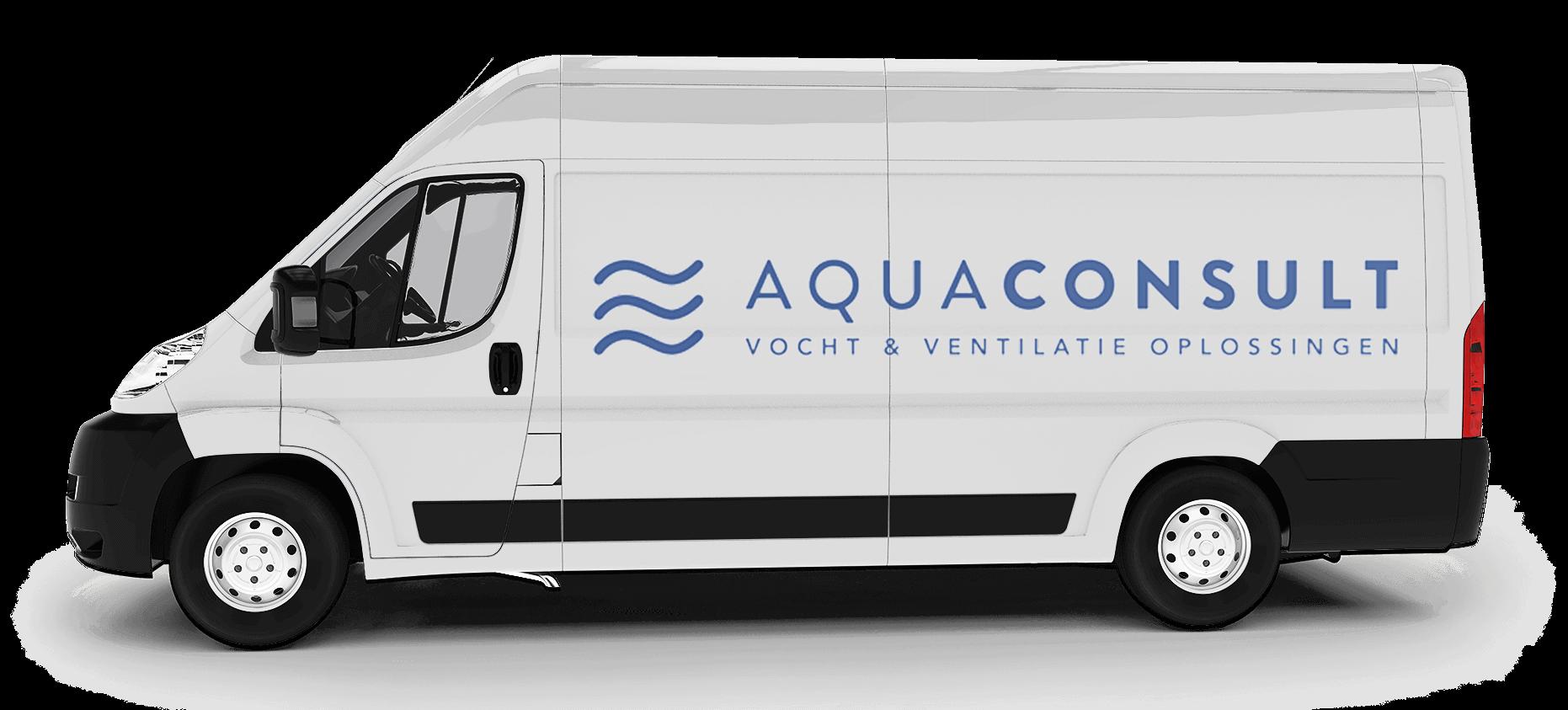 Logo de la camionnette Aquaconsult