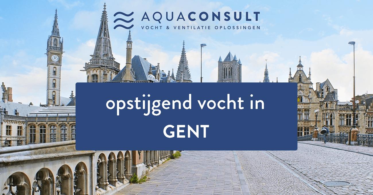 Opstijgend vocht Gent