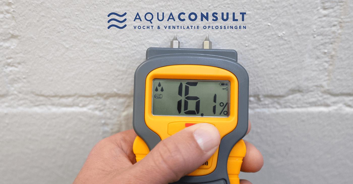 Producten vochtbestrijding muren - Vochtmeter - Aquaconsult