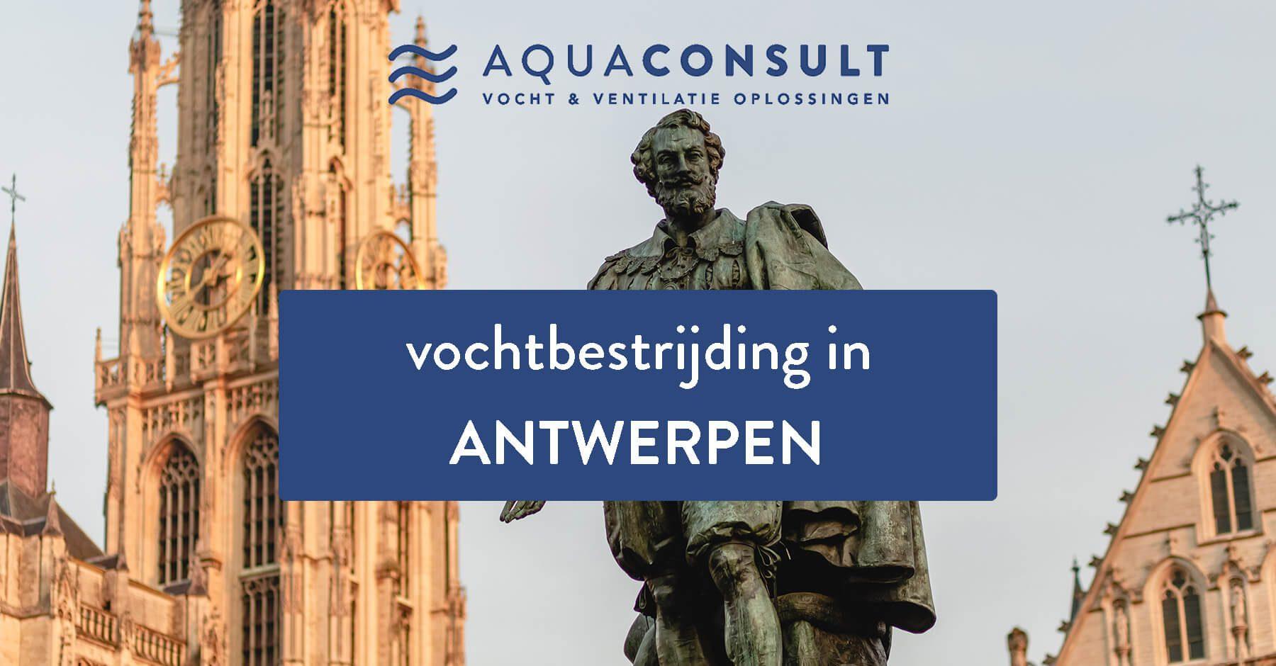 Vochtbestrijding in Antwerpen