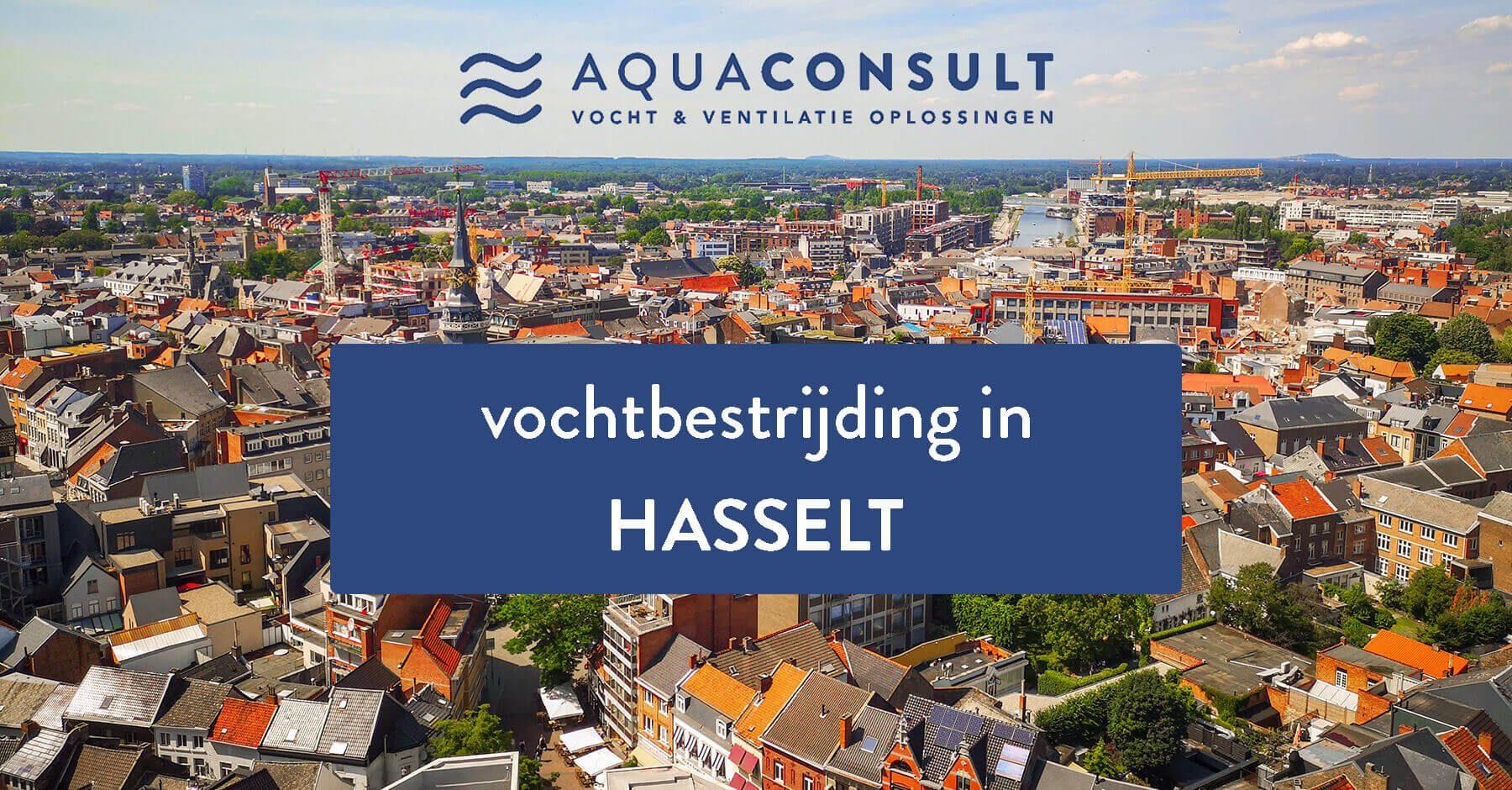 Vochtbestrijding in Hasselt