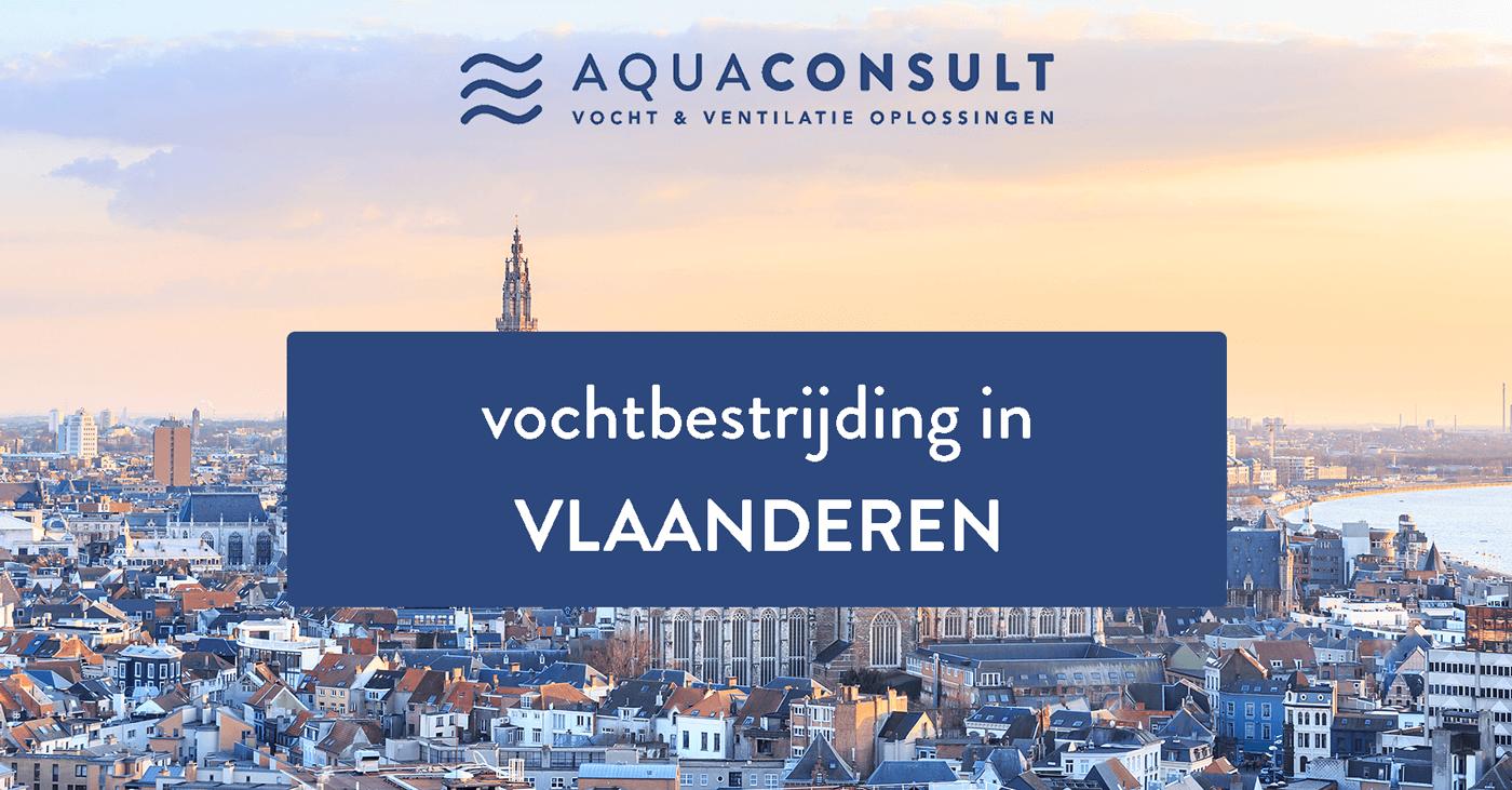 Vochtbestrijding in Vlaamse gemeenten