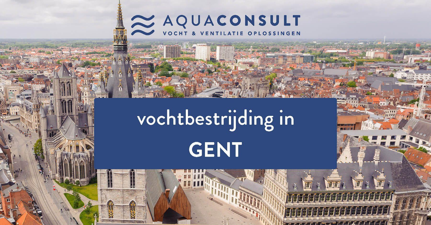 Vochtbestrijding in regio Gent