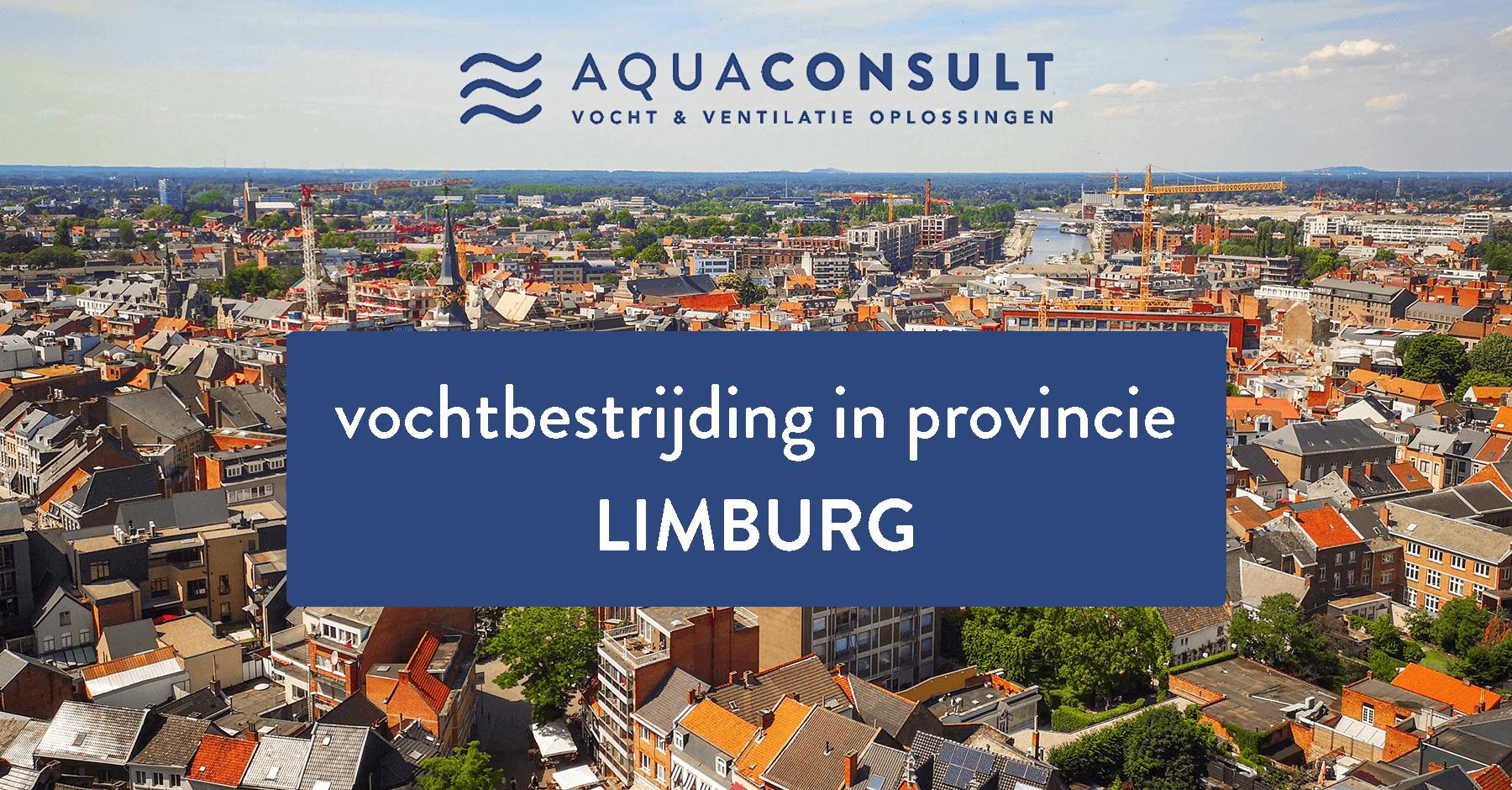 Vochtbestrijding in provincie Limburg